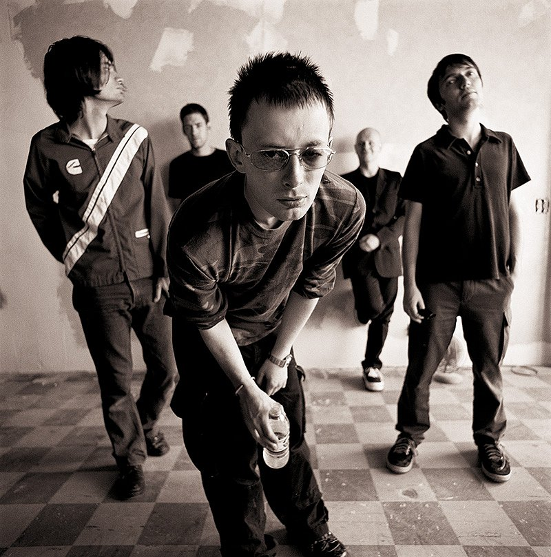 old pic of Radiohead from the archives :)